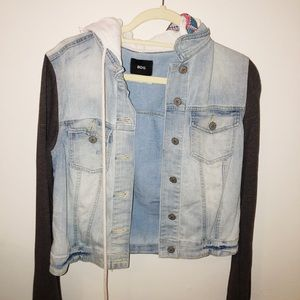 Urban Outfitters Trendy Tribal Jean Jacket